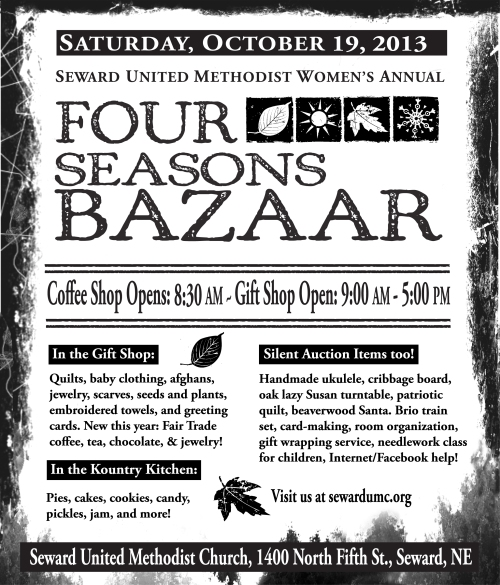 UMW Annual Four Seasons Bazaar