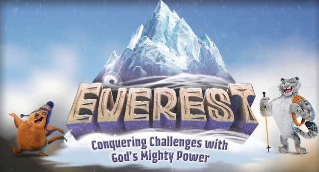 2015 Seward United Methodist VBS EVEREST Banner