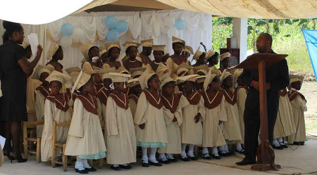 Graduation Day for Haiti Children
