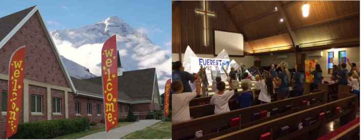 Everest VBS at Seward United Methodist Church 2015
