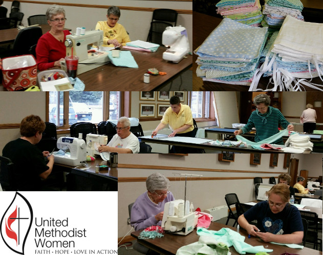 UMW Mission Saturday March 12th - Mission Diapers collage