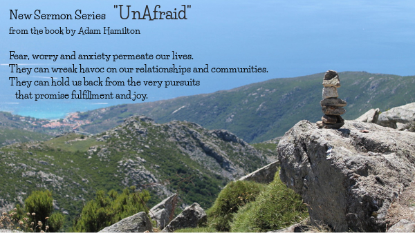 unafraid sermon series photo