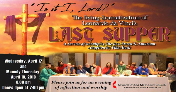 Living Last Supper « Seward United Methodist Church