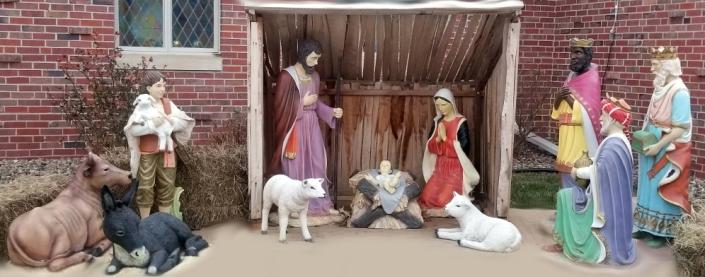 Seward United Church Nativity Scene 2019